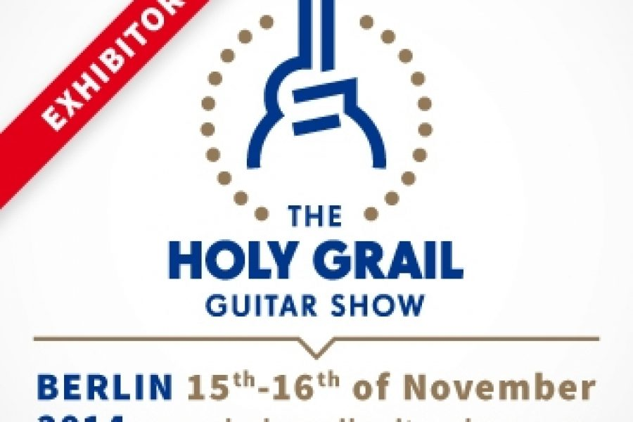 Holy Grail Guitar Show, Berlin 2014