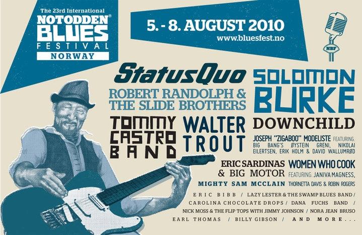 Notodden Bluesfestival 2010